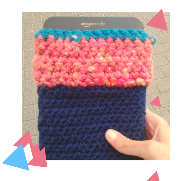 crochet kindle-case
